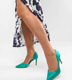 Туфли на высоком каблуке для широкой стопы ASOS DESIGN Purley - Зеленый