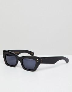 Черные солнцезащитные очки кошачий глаз Pared - Черный