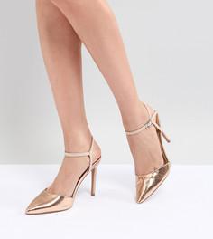 Туфли на каблуках ASOS DESIGN Pascala - Бежевый
