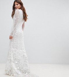 Декорированное платье макси A Star Is Born Bridal - Белый