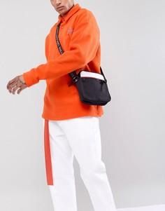 Черная сумка для авиаперелетов с сетчатым карманом ASOS DESIGN - Черный