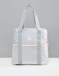 Серая сумка-тоут adidas - Серый