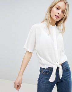 Рубашка с завязкой JDY - Белый