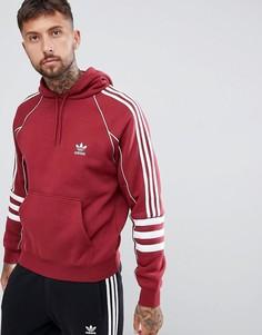 Красный худи adidas Originals Authentic DJ2859 - Красный