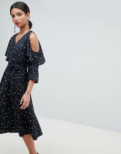 Платье миди Y.A.S - Мульти