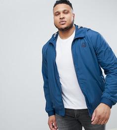 Легкая куртка с пальмовым принтом на подкладке Blend PLUS - Синий