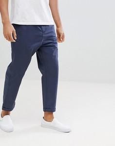 Укороченные суженные брюки Jack & Jones - Темно-синий