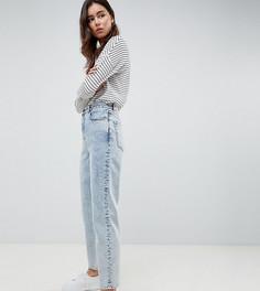 Светлые джинсы бойфренда ASOS DESIGN Tall - Синий
