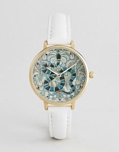 Часы с вышивкой в стиле барокко ASOS DESIGN - Мульти