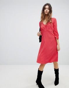 Платье с принтом Soaked In Luxury - Розовый