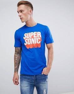 Футболка Only & Sons Super Sonic - Синий