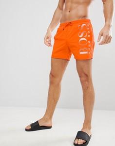 Шорты для плавания BOSS Octopus - Оранжевый