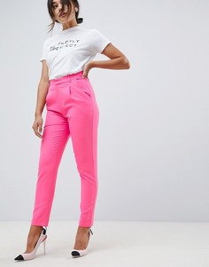 Строгие брюки Amy Lynn - Розовый