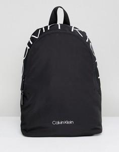 Рюкзак с контрастным логотипом Calvin Klein Jeans - Черный