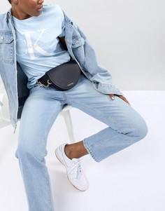 Сумка-кошелек на пояс с цепочкой Calvin Klein - Черный