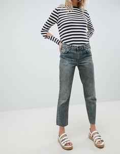 Укороченные джинсы прямого кроя Cheap Monday - Синий
