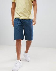 Темно-синие льняные шорты United Colors Of Benetton - Темно-синий