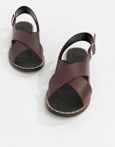Кожаные сандалии Depp - Рыжий