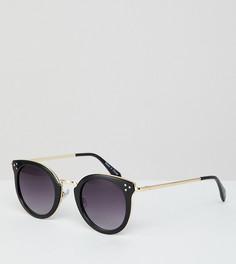 Круглые солнцезащитные очки Accessorize Lizzy - Черный