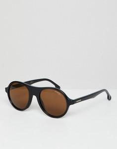 Солнцезащитные очки в круглой оправе Carrera - Черный