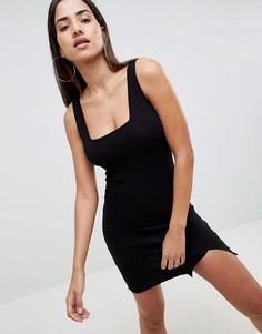 Облегающее платье мини ASOS DESIGN - Черный