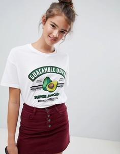 Футболка guacamole queen Pull&bear - Белый Pull&Bear