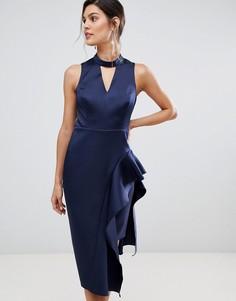 Асимметричное платье Coast Carlotta - Темно-синий