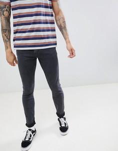 Серые джинсы скинни Lee - Серый