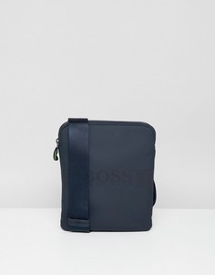 Темно-синяя сумка BOSS Pixel R - Темно-синий