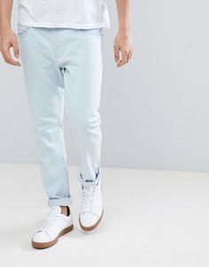 Светлые джинсы слим LDN DNM - Синий