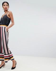 Широкие брюки в полоску Y.A.S - Мульти