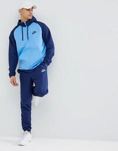 Синий спортивный костюм Nike 861772-430 - Синий