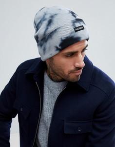 Шапка-бини темно-синего цвета Pull&Bear - Темно-синий Pull&Bear