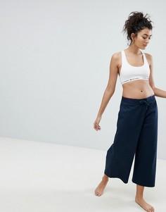 Широкие брюки Tommy Hilfiger - Синий
