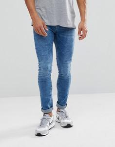 Супероблегающие джинсы Pull&Bear - Синий Pull&Bear