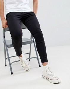 Черные джинсы-морковки Pull&Bear - Черный Pull&Bear