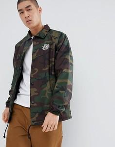 Зеленая спортивная куртка Vans V2MUCMA - Зеленый