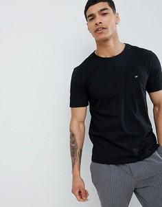 Черная футболка с логотипом Calvin Klein - Черный