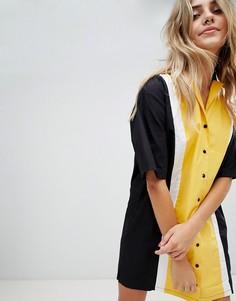 Платье-рубашка The Ragged Priest - Желтый