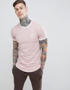 Футболка Gym King - Розовый