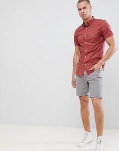 Узкая рубашка New Look - Красный
