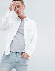 Белая рубашка классического кроя New Look - Белый