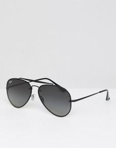 Солнцезащитные очки-авиаторы Ray-Ban - Черный