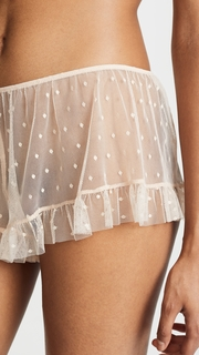 Only Hearts Coucou Lola Ruffle Hipster Shorts