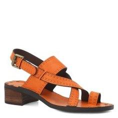 Босоножки SEE by CHLOE SB30043 коричнево-оранжевый