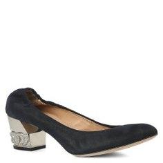 Туфли CASADEI 1F430D050 темно-синий