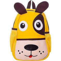 """Детский рюкзак Феникс+ """"Собачка"""", жёлтый"""