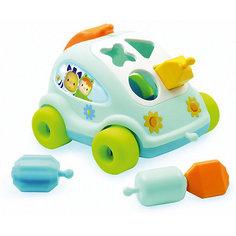 Развивающий автомобиль с фигурками Smoby, голубой
