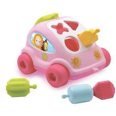 Развивающий автомобиль с фигурками Smoby, розовый