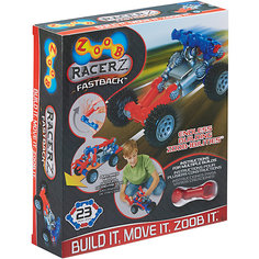 """Конструктор ZOOB """"Racer-Z"""" Fastback, 18 деталей"""